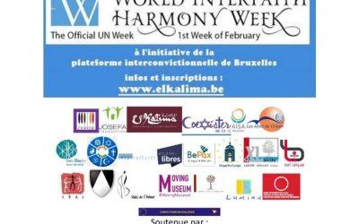 WORLD INTERFAITH HARMONY WEEK – 01.02 to 07.02.2018