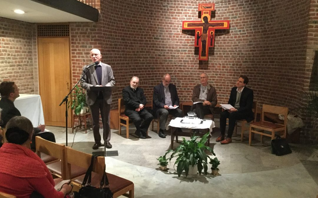 """Speech of Fr Michel Fedou sj : """"Nouveaux chantiers de l'œcuménisme"""" 16.01.2018"""