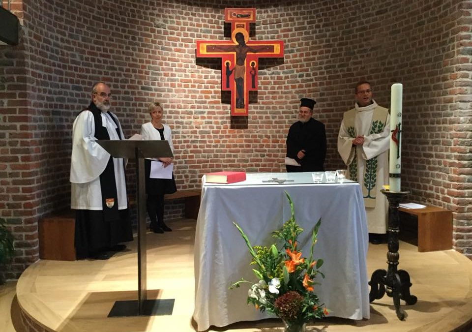 Some moments of our Inauguration Ecumenical Prayer last 26.09.2018
