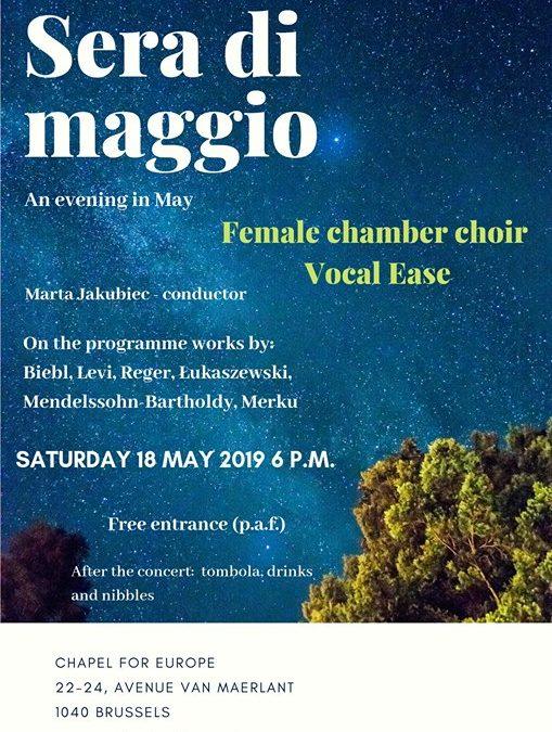 Vocal Ease Concert – Sera di maggio