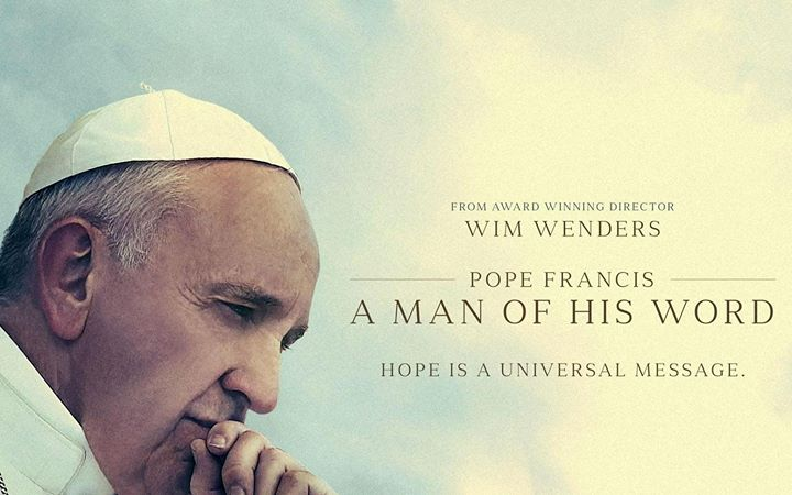 Movie Night : Pope Francis, A Man of His Word