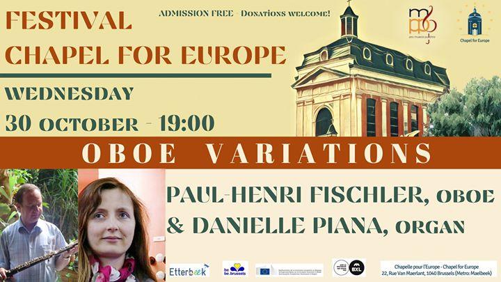 Festival Chapel for Europe – Oboe Variations