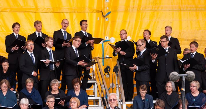 Choir concert  organized by Finnish Seamen's Mission