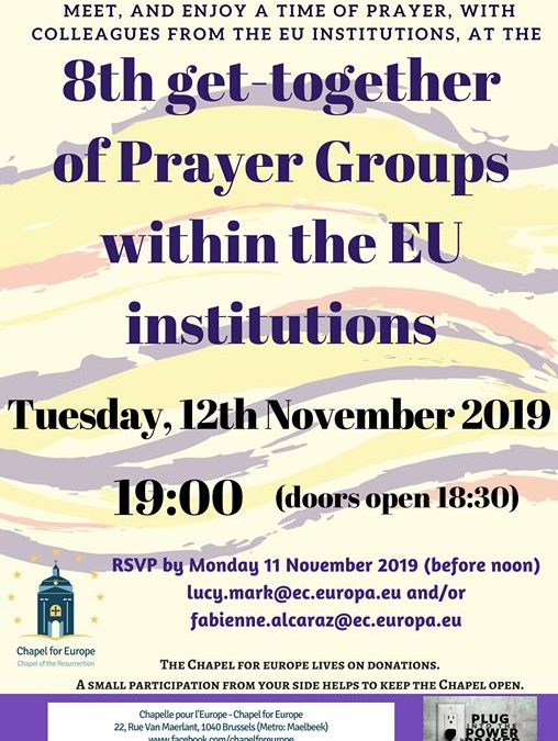 8th get-together of Prayer Groups within the EU institutions