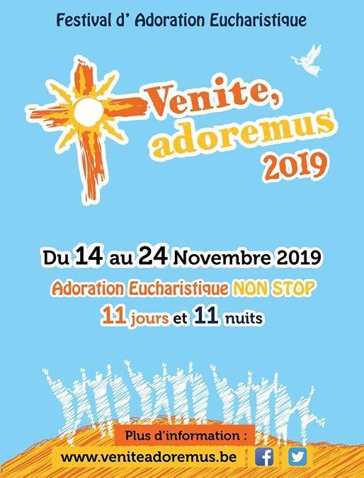 Venite Adoremus 2019 – Adoration Eucharistique et Messe