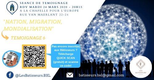Témoignage 6: Nation, Migration, Mondialisation
