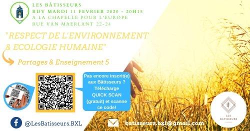 Enseignement 5: Environnement & Ecologie humaine
