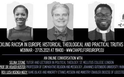 Tackling racism in Europe: historical, theological and practical truths.